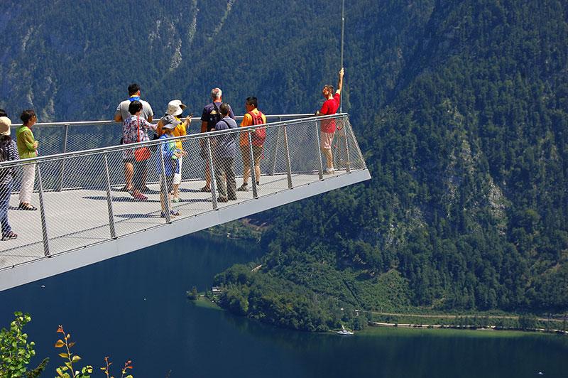 Østerrikes fineste utsiktspunkter - Hallstatt, Salzkammergut, Oberösterreich, Østerrike