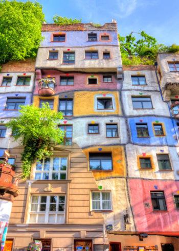 Hunderwasserhaus i Wien - Guidede turer med WeGuideVienna