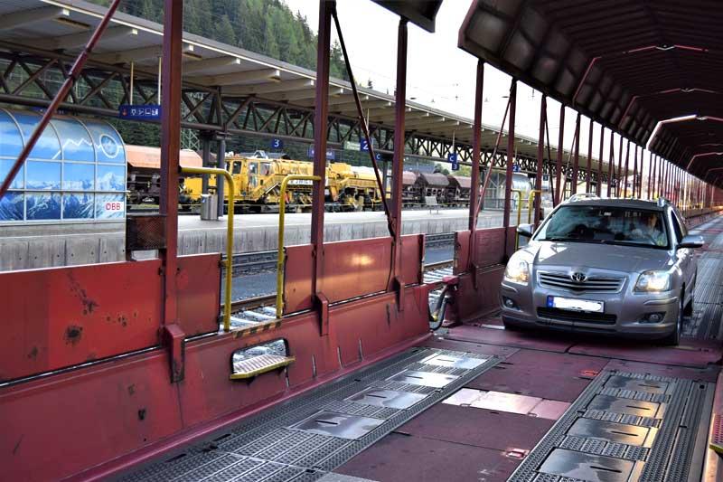 Autoschleuse Tauernbahn, Østerrike