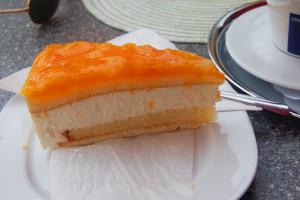 Mandarin-cheese kake