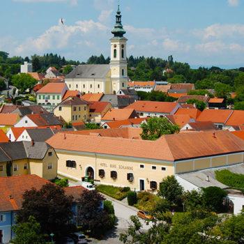 Historiske byer, Stadtschlaining, Burgenland, Østerrike