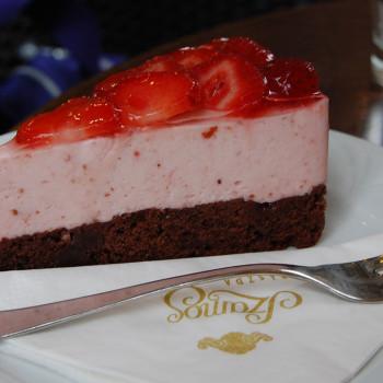 Jordbærmousse kake - - Østerrikes søte sider