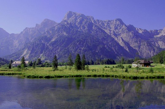 Almsee (lake), Almtal, Oberösterreich,Østerrike