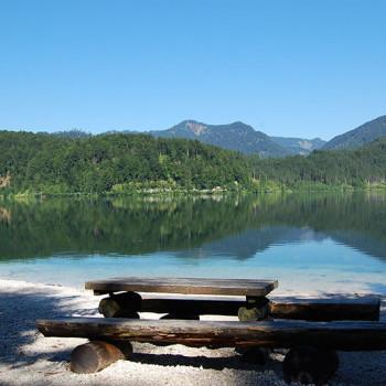 Almsee, Almtal, Oberösterreich, Østerrike