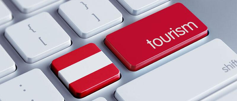 Austria, tourism, keyboard