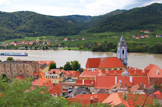 Dürnstein i Wachau, Niederösterreich, Østerrike