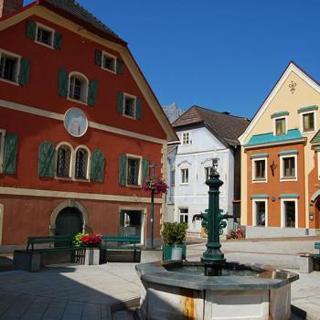 Eisenerz, Steiermark, Østerrike.