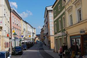 Eisengasse, Freistadt, Oberösterreich, Østerrike.