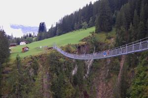 Hengebrua ved Holzgau, Tirol, Østerrike