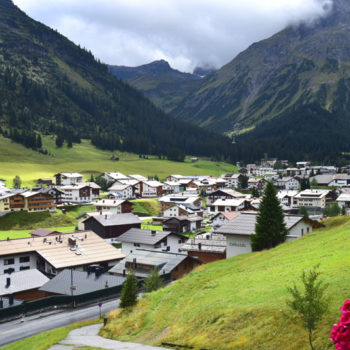 Lech, Vorarlberg, Østerrike.