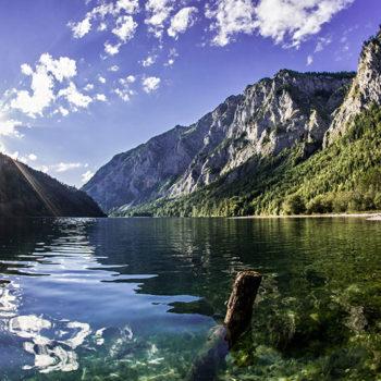 Leopoldsteinersee, Steiermark, Østerrike