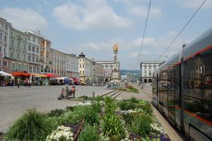 Hauptplatz Linz, Oberösterreich, Østerrike