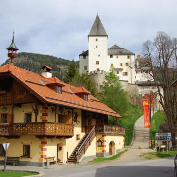 Burg Mauterndorf, Salzburgerland, Østerrike.