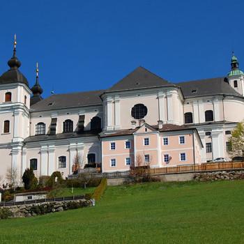 Sonntagberg basilikaen, Mostviertel, Niederösterreich, Østerrike.