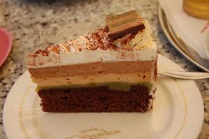 Mozart kake -søte sider