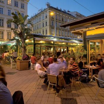 Naschmarkt, Wien, Østerrike