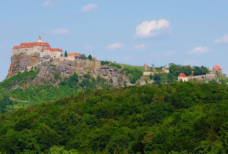slott, klostre og ridderborger - Riegersburg, Steiermark, Østerrike