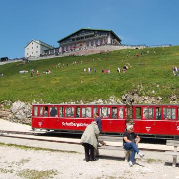 Schafbergbahn, Salzburgerland, Østerrike