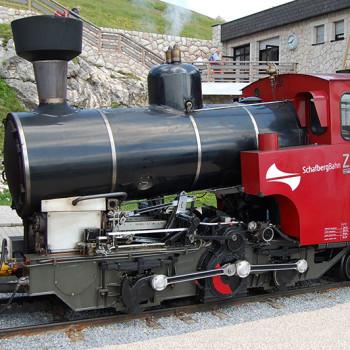 På togreise i Østerrike, Schafbergbahn, Salzburgerland, Østerrike