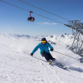 Alpinparadiset Ischgl, Tirol, Østerrike
