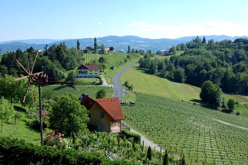 Vinferie i Steiermark, Østerrike