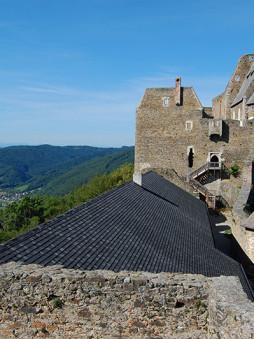 Burg Aggstein ved Donau, Niederösterreich, Østerrike