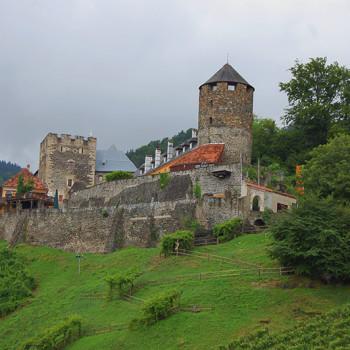 Burg Deutschlandsberg, Steiermark, Østerrike.