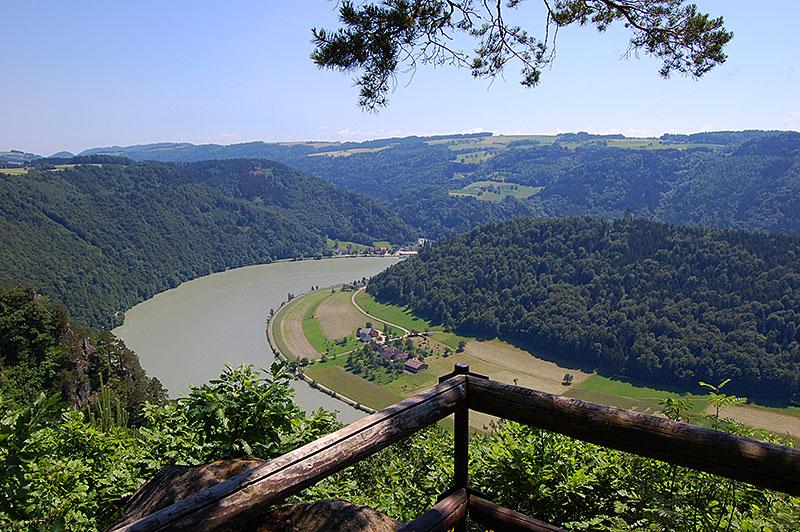 Østerrikes fineste utsiktspunkter - Steiner Felsen, Oberösterreich, Østerrike.