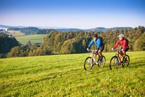 Mountainbiking i Mühlviertel, Oberösterreich, Østerrike