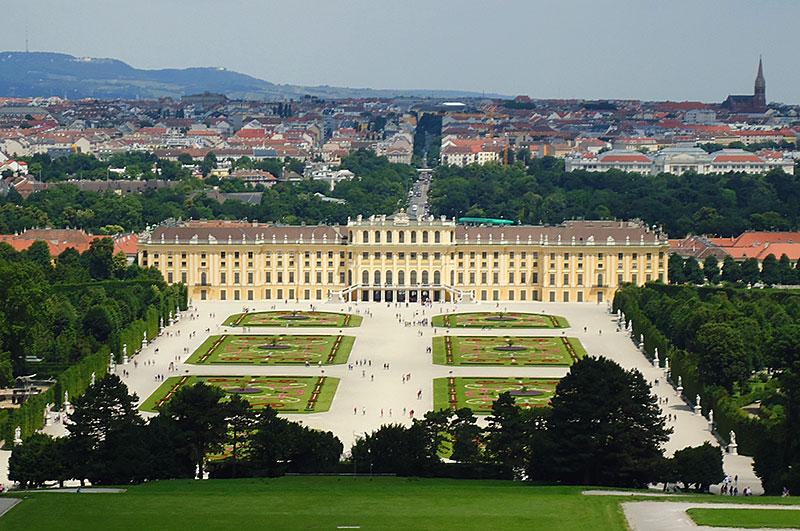 Keiserpalasset Schönbrunn, Wien, Østerrike
