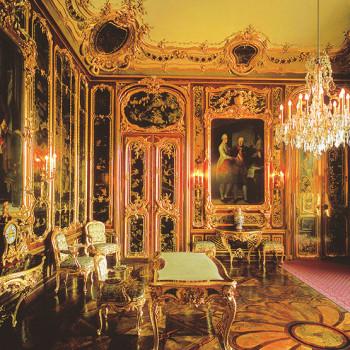 Vieux Laque Salon, Keiserpalasset Schönbrunn, Wien, Østerrike