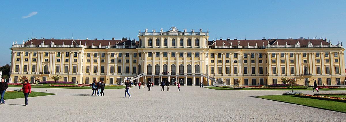 Schloss Schönnbrunn, Wien, Østerrike.