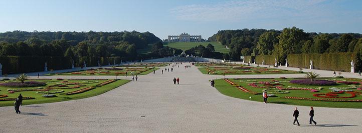 Schloss Schönbrunn, Wien, Østerrike.