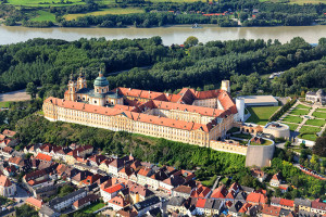 slott, klostre og ridderborger - Stift Melk, Niederösterreich, Østerrike