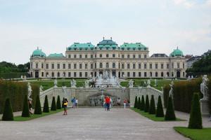 slott, klostre og ridderborger - Schloss Belvedere, Wien, Østerrike