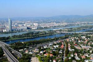 Wien, Donau, Østerrike