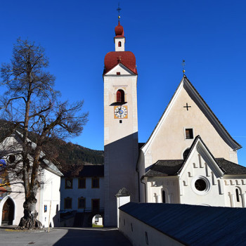 Lourdeskapelle i Assling på Pustertaler Höhenstrasse, Osttirol, Østerrike.