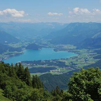Zwölferhorn, Salzkammergut, Salzburgerland, Østerrike