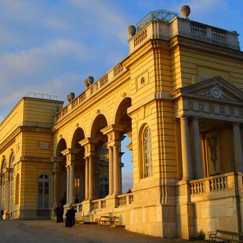 Gloriette, Keiserpalasset Schönbrunn, Wien, Østerrike