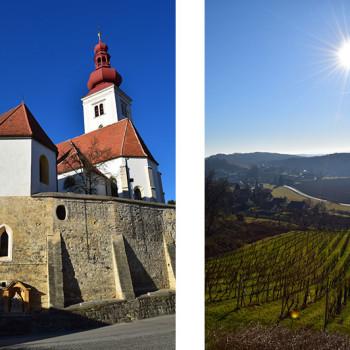 Straden, Vulkanland, Steiermark, Østerrike.