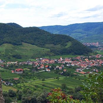 Rossatz, Wachau, Niederösterriech, Østerrike
