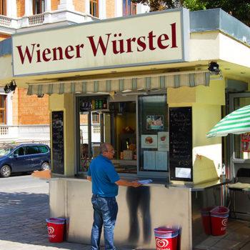 Wiener Würstelstand, Wien, Østerrike