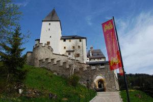 Burg Mauterndorf, SalzburgerLand, Østerrike