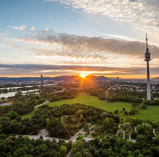 Donauturm, en weekend i Wien, Østerrike