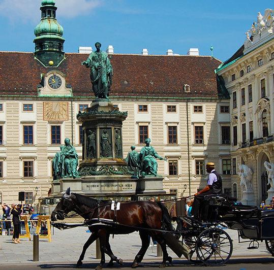 Hofburg, Det keiserlige Wien, Østerrike