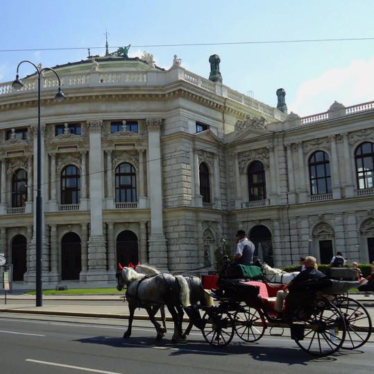 Fiaker, en weekend i Wien, Østerrike