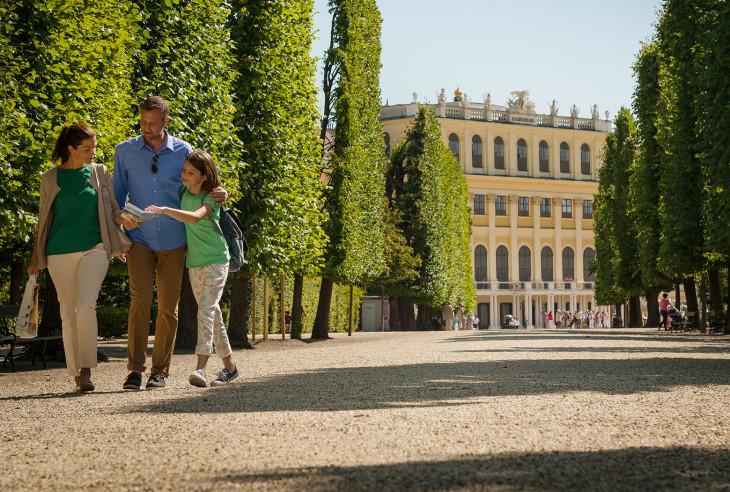 Schönbrunn, weekend i Wien, Østerrike