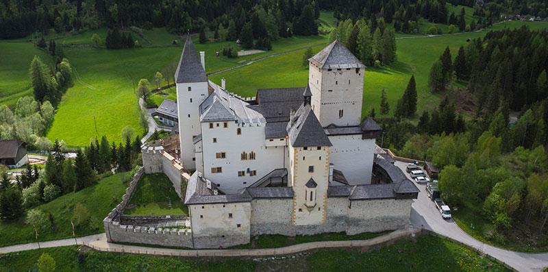 Burg Mauterndorf, Lungau, SalzburgerLand, Østerrike