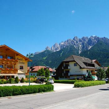 Toblach, Syd-Tirol, Italia