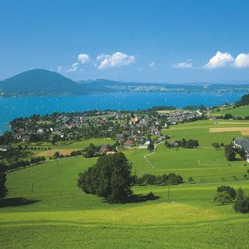 Attersee, Salzkammergut, Østerrike - Mondsee & Attersee